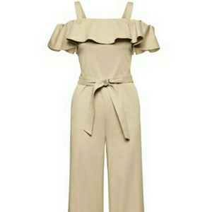 Banana Republic Off-Shoulder Jumpsuit.